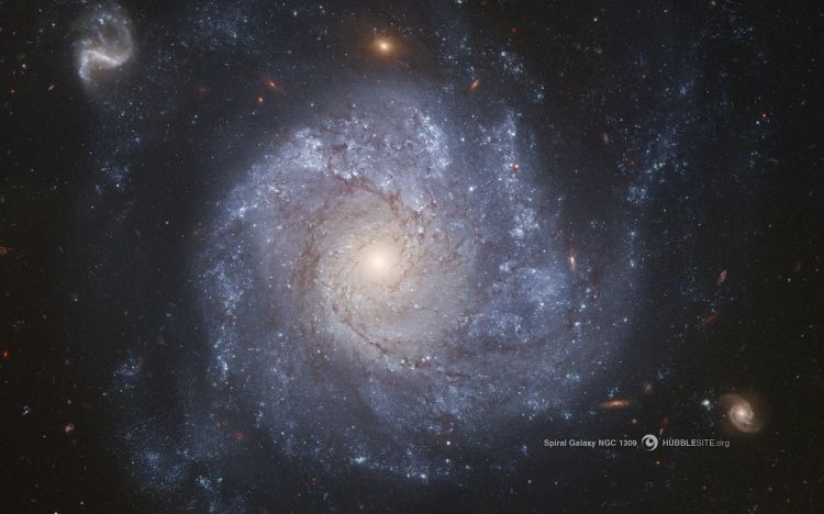 Wallpapers Space Galaxies La galaxie spirale NGC 1309