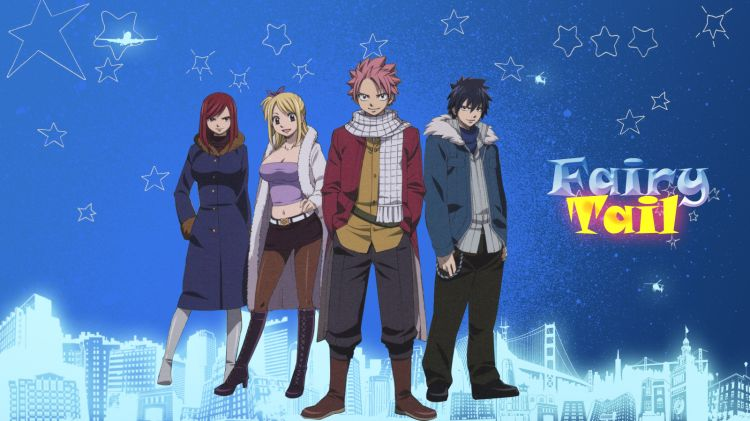 Fonds D Ecran Manga Fonds D Ecran Fairy Tail Fairy Tail