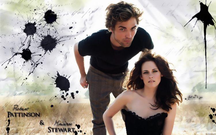 Fonds d'écran Célébrités Homme Robert Pattinson Robert Pattinson & Kristen Stewart