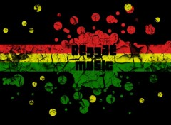 Digital Art Reggae Music