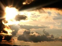 Nature cloudy sky
