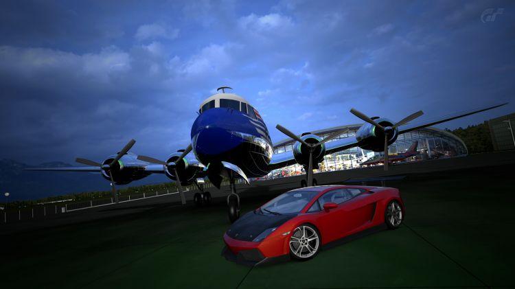 Fonds d'écran Jeux Vidéo Gran Turismo 5 Lamborghini Gallardo LP '08