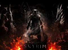 Video Games SKYRIM-dovahkiin