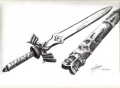 Art - Pencil epee zelda