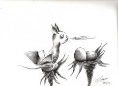 Art - Crayon dragons