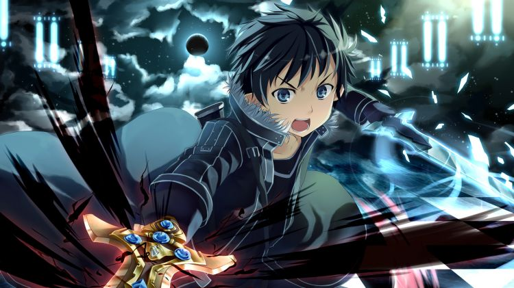 Wallpapers Manga Sword Art Online Kirito