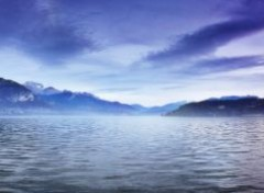Nature Panorama: Brume du lac