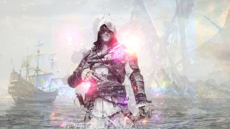 Fonds d'écran Jeux Vidéo Assassin's Creed 4 : Black Flag Edward Kenway