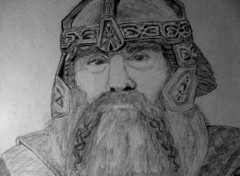 Art - Pencil Gimli