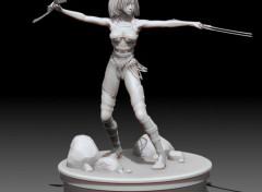Art - Numérique Figurine Guerriere