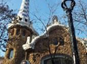 Constructions et architecture Park Güell de Antoni Gaudí à Barcelone.