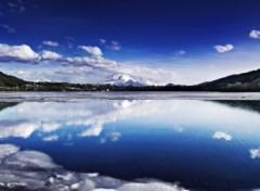Nature Fin des glaces du lac