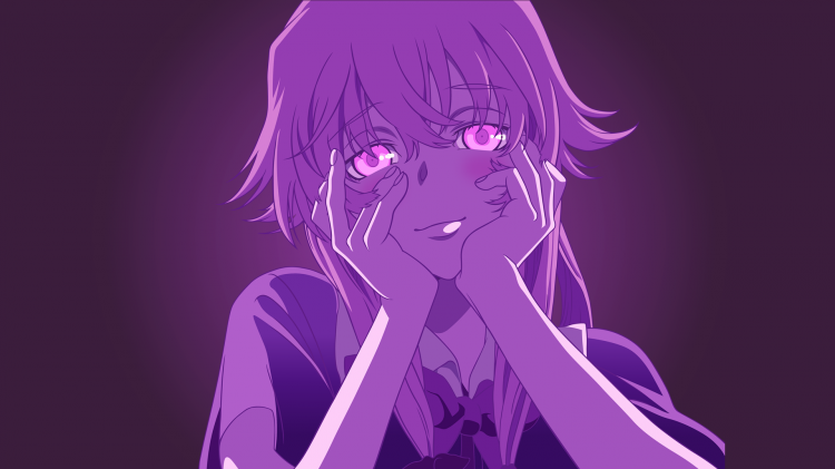 Fonds d'écran Manga Mirrai Nikki Yuno Gasai