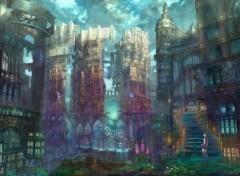 Manga Ville dévastée