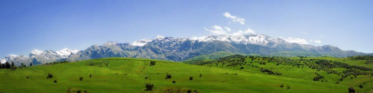 Fonds d'écran Voyages : Afrique Algérie montagnes du Djurdjura en grande Kabylie  Afrique du Nord