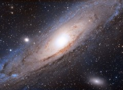 Space La galaxie d'Andromède
