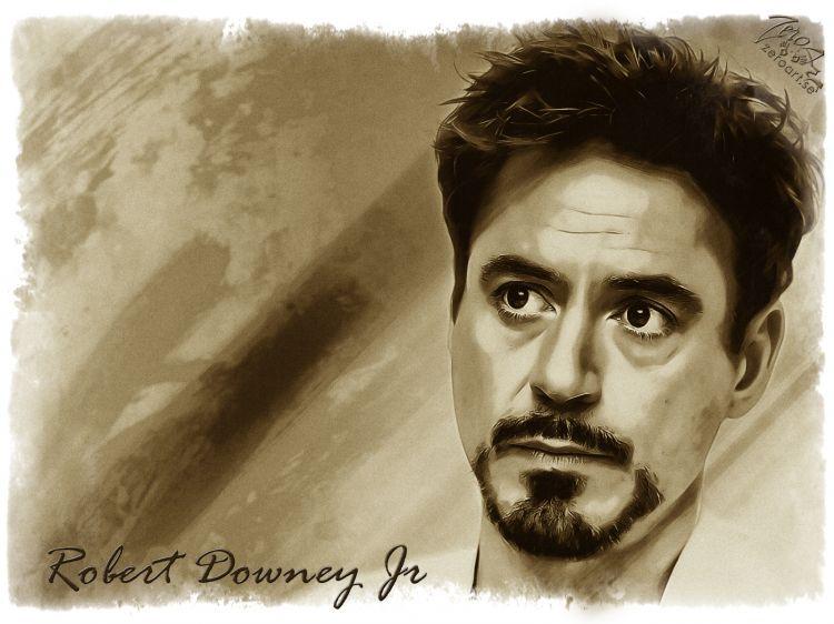 Fonds d'écran Célébrités Homme Robert Downey Jr. Wallpaper N°341924