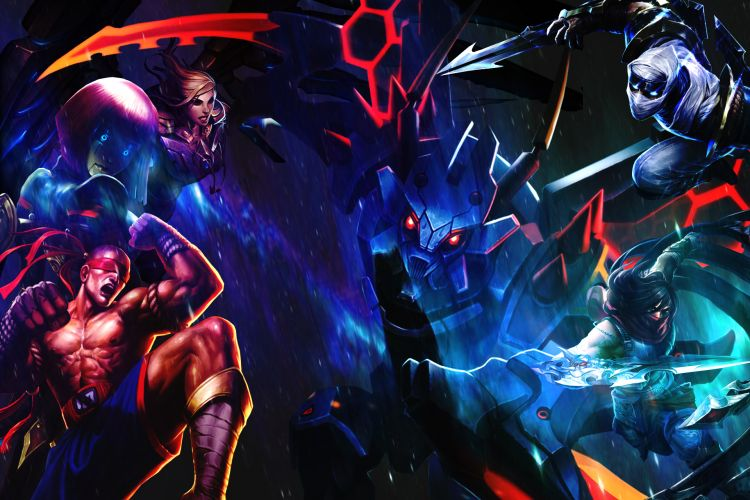Fonds d'écran Jeux Vidéo League of Legends - Clash of Fates Wallpaper N°342545