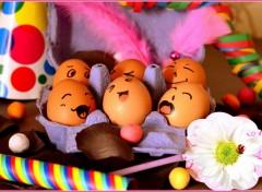 Humor Eggs party