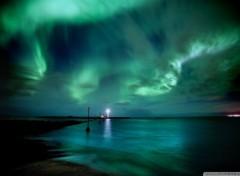 Voyages : Europe aurore boréale