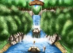 Art - Numérique Welcome to her Wonderland