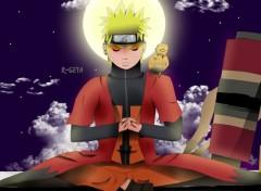 Manga Naruto mode ermite