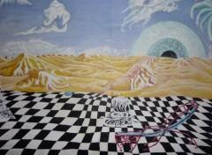 Art - Peinture  DESSINS ET PEINTURES  ANNEES 80.