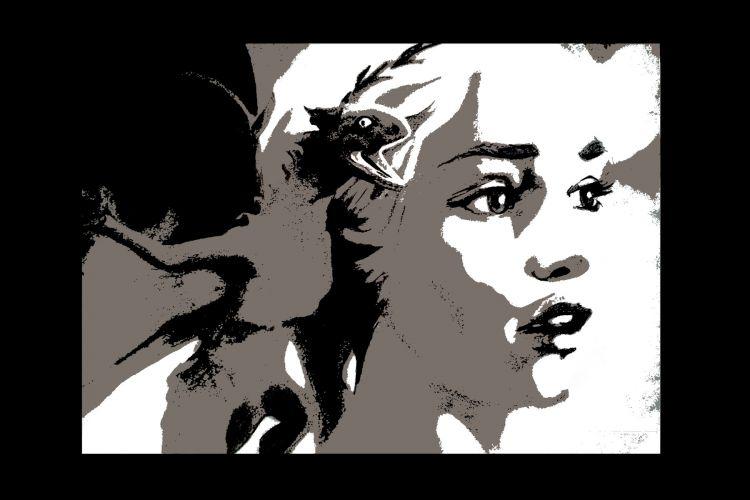 Wallpapers Digital Art Wallpapers Portraits Khaleesi Game Of Thrones By Desiree Hebus Com