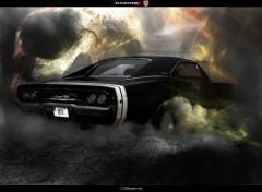 Art - Numérique Dodge charger R/T