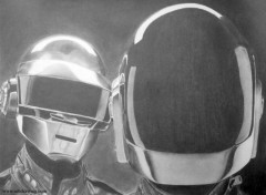 Art - Pencil DAFT PUNK