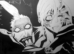 Art - Crayon Allen Walker VS Krowry dans D.Gray.Man