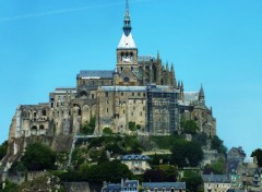 Constructions and architecture Mont Saint Michel