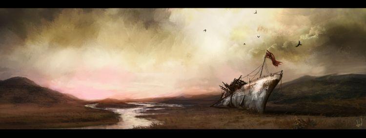 Wallpapers Fantasy and Science Fiction Apocalypses Espada