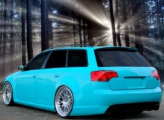 Cars superbe audi rs4 tuning