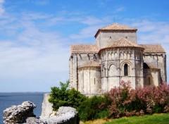 Constructions and architecture Eglise de Talmont