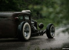 Cars chevy hot rod (1931)