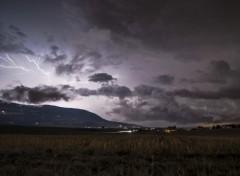 Nature éclair, la nuit