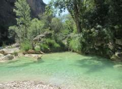 Nature Rivière, Aragon, Espagne