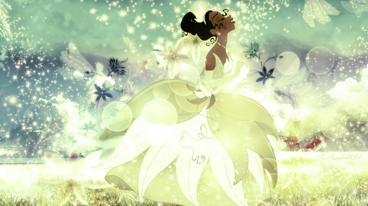 Wallpapers Cartoons The Princess and the Frog Tiana