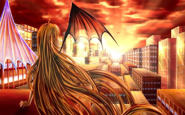 Fonds d'écran Art - Numérique Manga Izaku