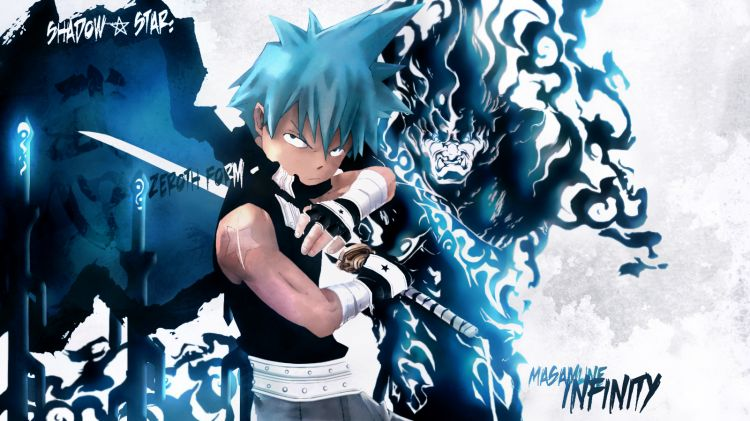 Fonds d'écran Manga Soul Eater Black Star! the way of the Bushin! Masamune Infinity