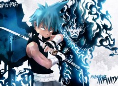 Manga Black Star! the way of the Bushin! Masamune Infinity