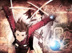 Video Games Tales of Symphonia, Lloyd and Kratos