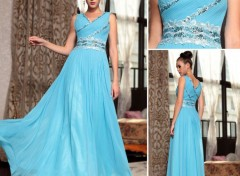 Objets robe de soirée élégante