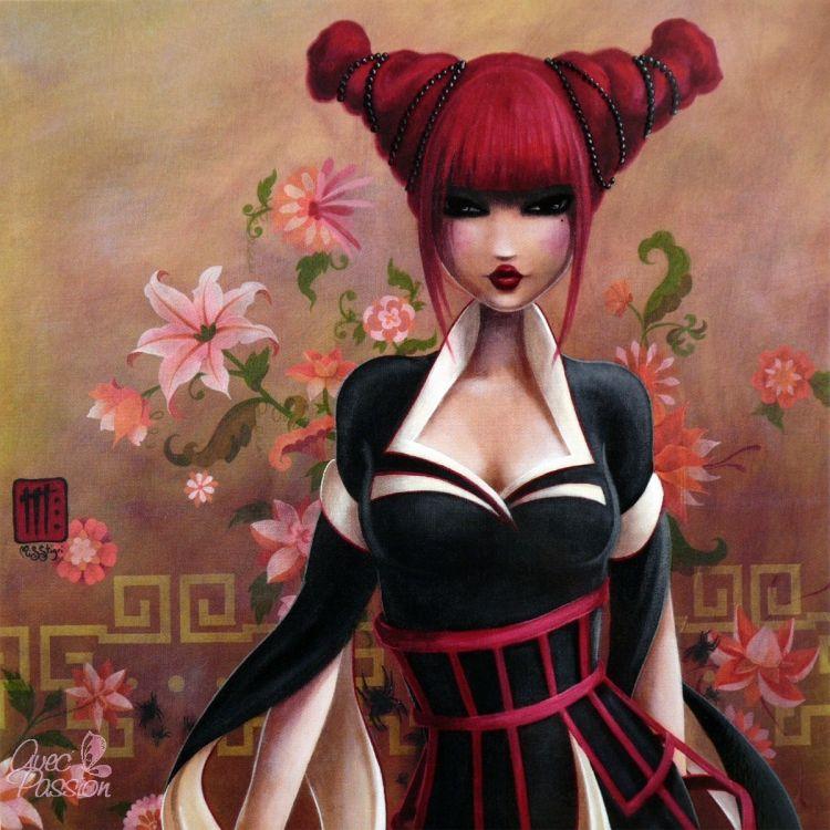 Wallpapers Digital Art Women - Femininity misstigri