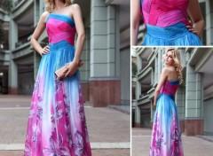 Objets Charmante belle robe de célébrité robe de soirée uk