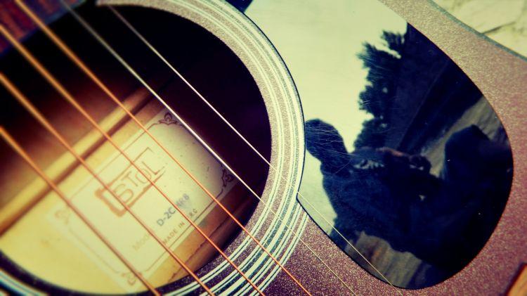 Fonds d'écran Musique Instruments - Guitares Wallpaper N°355322