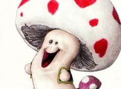 Art - Crayon Toad 2 (et sa toadette)