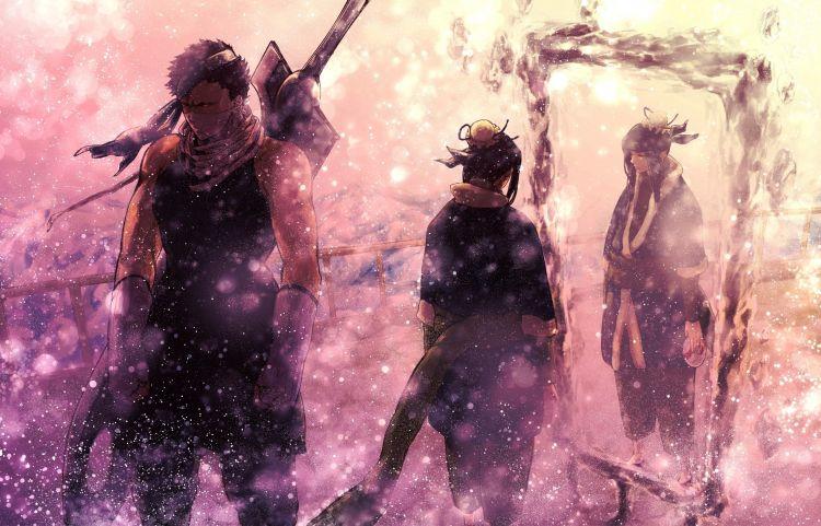 Fonds d'écran Manga Naruto zabuza