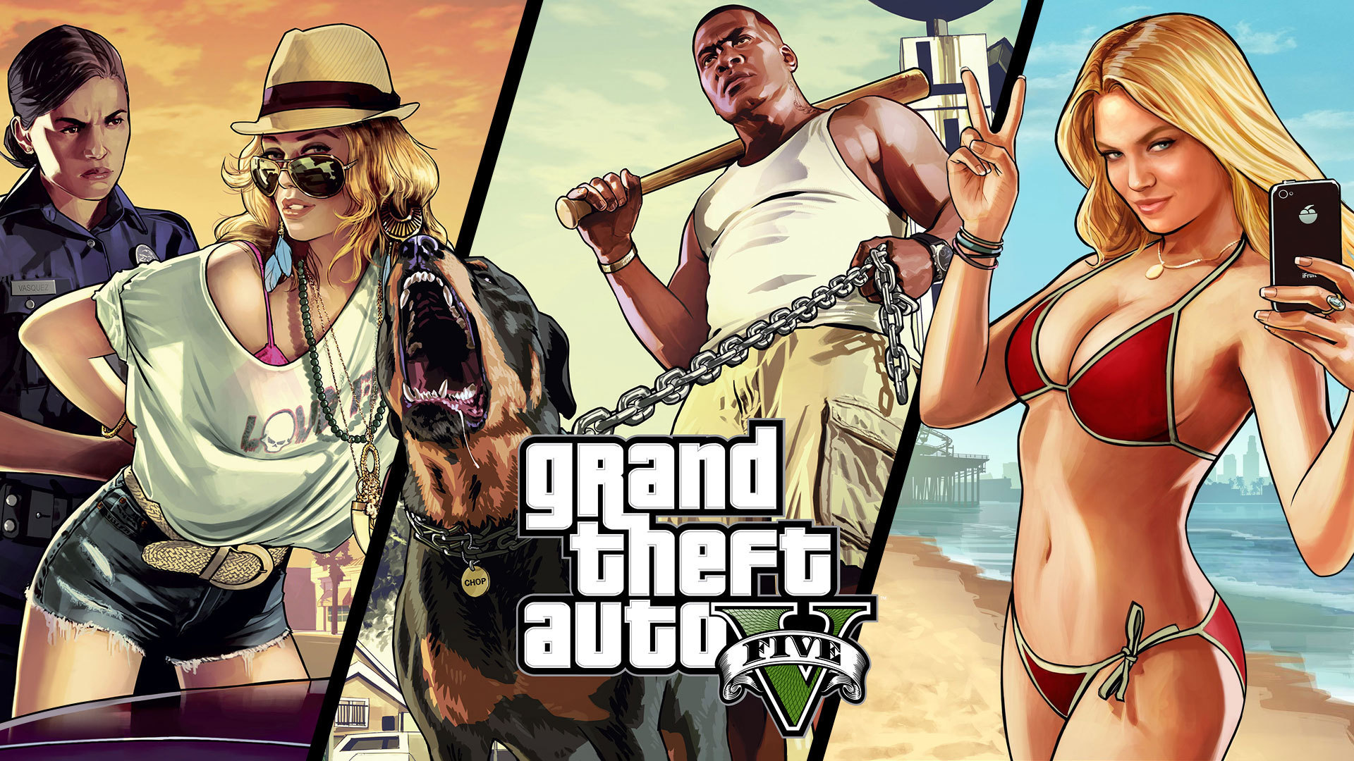 Fonds d'écran Jeux Vidéo GTA 5 gta 5
